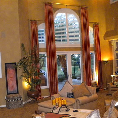 Custom Upholstry Las Vegas Window Treatments Las Vegas